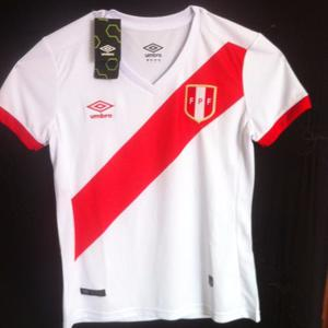 Camiseta De Seleccion Peru (mujer) Calidad Rep.a1