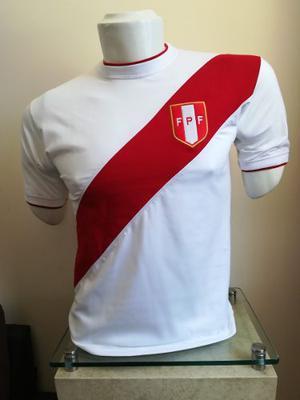 Polo / Camiseta Selección Peru  Puro Algodon ~ Delivery