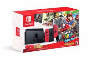 Consola Nintendo Switch Edicion Mario Odyssey