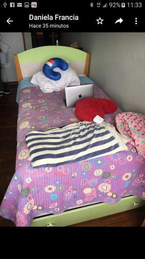 Juego de Dormitorio Y Escritorio Niña