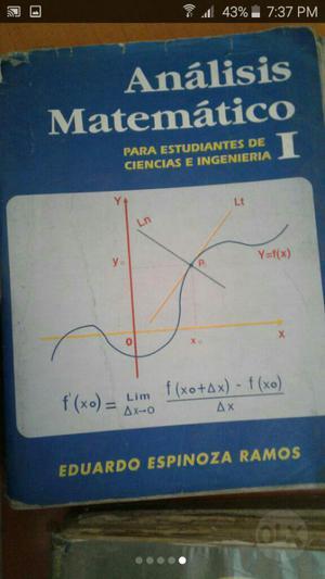 Libros de Analisis Mat. Fisica Y Calculo