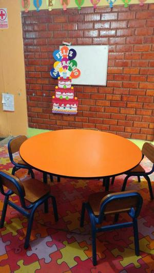 Mesa para ni os dormitorio inicial posot class for Sillas para inicial