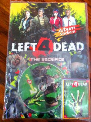 "Álbum Sellado ""Left 4 Dead. TheSacrifice"" Impreso en"
