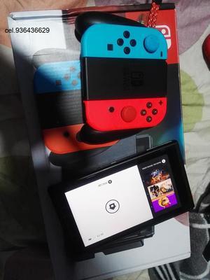 vendo nintendo switch nuevo. recien comprado. con juego
