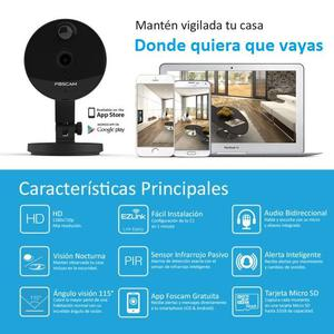 Cámara De Seguridad De Interior Inteligente Foscam C1