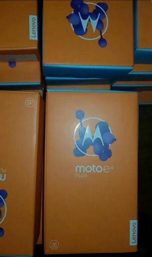Moto E4 Plus, 16gb, 2gb Ram, Id Dactilar, Quad Core,