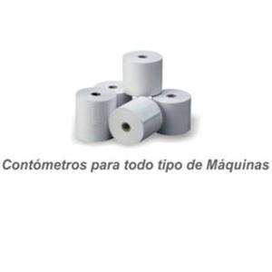 Rollos De Papel Contometros Para Todo Tipo De Maquinas