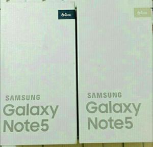 Samsung Galaxy Note 5, 32gb Y 64gb, 4gb Ram, Cam.16mpx Y