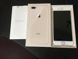 VENDO IPHONE 8 PLUS DE 64 GB DORADO, NUEVO DE CAJA S/.
