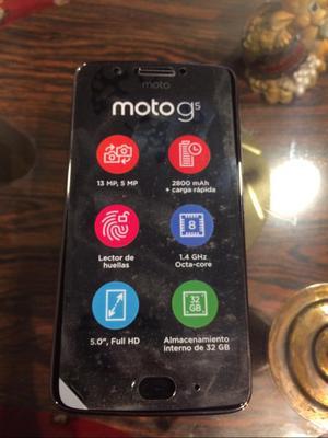 Vendo Moto G5 de 32Gb. Nuevo en Caja.