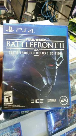 Star Wars Battlefront 2 Deluxe Edition Ps4 Nuevo Sellado