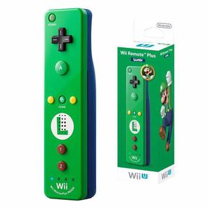 [original] Nintendo Luigi Remote Plus Nuevo, Sellado Verde