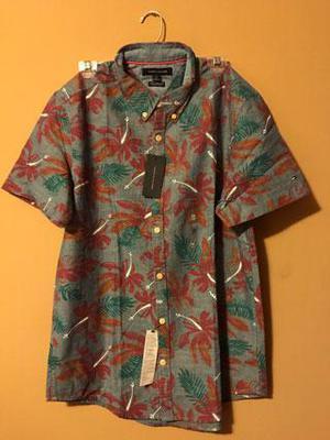 Camisa Hombre Tommy Hilfiger Original Nuevo Talla M