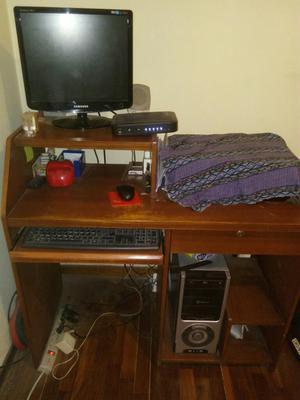Mueble Para Computadora De Madera Posot Class