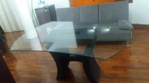Mesa grande de vidrio templado de 1cm para 8 personas lima - Vidrios para mesas de comedor ...