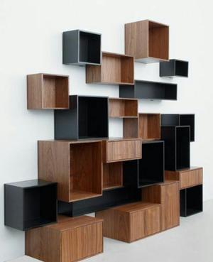 Fabricacion de muebles en melamina madera drywall posot for Mueble esquinero de melamina