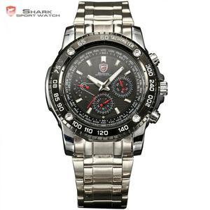 Reloj Shark Plateado