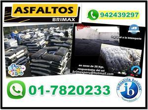 Venta de Asfalto en Lima, Peru