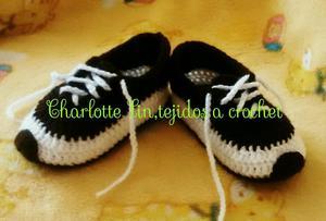 Zapatillas Tejidas a Crochet para Bebés