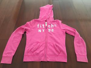 Polera con capucha usada ABERCROMBIE FITCH Kids auténtico