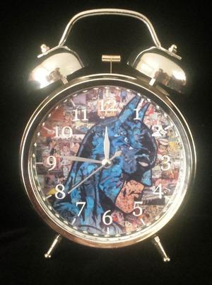 Batman Reloj Despertador Estilo Vintage Batman Mosaico