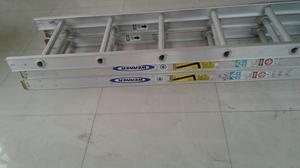 Escaleras articuladas de aluminio 8 12 y 16 pasos posot for Escaleras 8 pasos