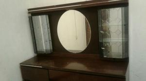 Remato amplia comoda cajonera con espejo grande posot class - Comoda con espejo ...
