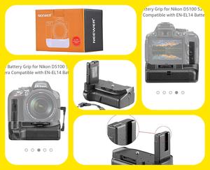 Battery Grip Neewer Nikon D/D