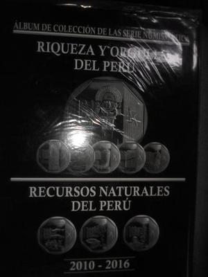 Colección Monedas Riqueza Y Orgullo Del Perú