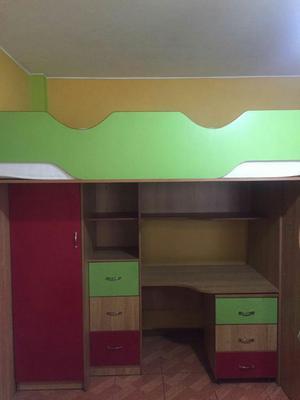 Juego de Dormitorio,escritorio Y Closet