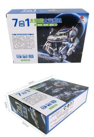 Juguete Educativo 7 En 1 Robot Solar Fleet