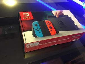 Nuevo Caja sin abrir Nintendo Switch mandos rojo y azul