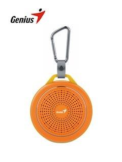 Parlante Inalámbrico Genius Sp-906bt, Naranja, 3w,