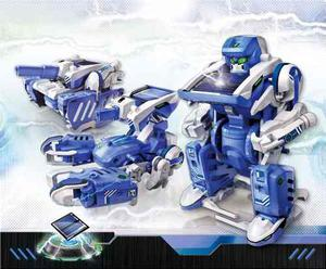 Robotica Solar Educativo Juguete Robot Transformers 3 En 1