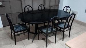 12 sillas plegables comodoy renovadas s 80 cu posot class for Comedor 8 sillas usado