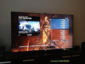 tv samsung de 55 pulgadas smart led 3d en caja. semi nueva