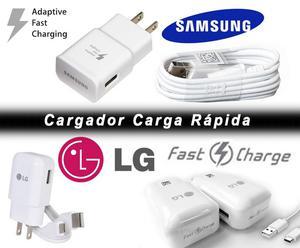 NUEVOS CARGADORES CARGA RÁPIDA SAMSUNG y LG para S6, S7