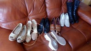 REMATE 7 pares de zapatos mujer x 120 soles TODO¡¡¡