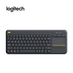 Teclado Inalámbrico Logitech K400 Plus, Receptor Usb, Touch