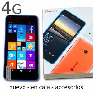 Telefono Nokia Lumia 640 Microsoft Nuevo En Caja!!!