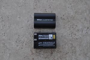 2 baterías NIKON EL3a original