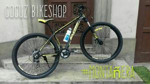 Bici Montañera Full Aluminio Aro
