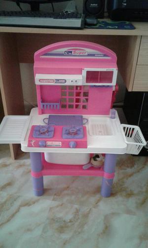 Cocina juguete cocinita ollas ollitas mu eca posot class - Cocina de juguete ...