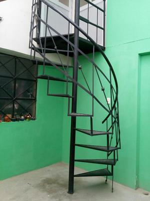 Escalera Caracol Fierro