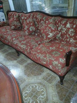 Juego muebles de sala luis xvi perfecto estado sofa 3 Muebles de sala luis xvi