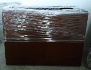 Credenza Con Dos Puertas Corredizas : Credenza de madera posot class