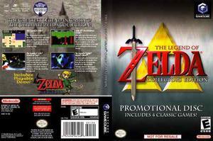 The Legend Of Zelda Collector's Edition - Nintendo Gamecube