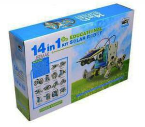 Kit Solar Robot Armable 14en1 No balanza Poker