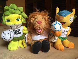 Peluches Mascotas Mundial de Futbol Fifa World Cup