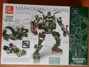 Robot 3 en 1 mediano Armable Alternativo Lego